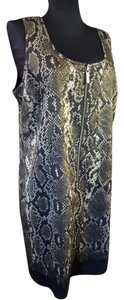 Michael Kors Snakeskin Dress