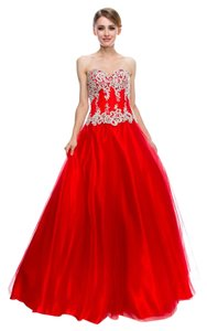 Bicici & Coty Tulle Md12728 Sweetheart Ball Gown Dress
