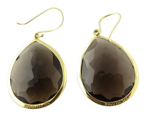 Ippolita Ippolita 18K Yellow Gold Smoky Topaz Wonderland Large Teardrop Earring