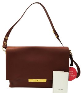 Céline Flap Blade Leather Shoulder Bag