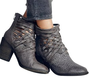 Free People Ankle Bootie Grey Boots