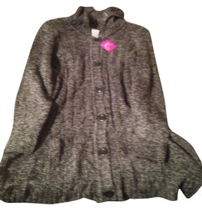 Just My Size 3x Sweater Button Down Jacket