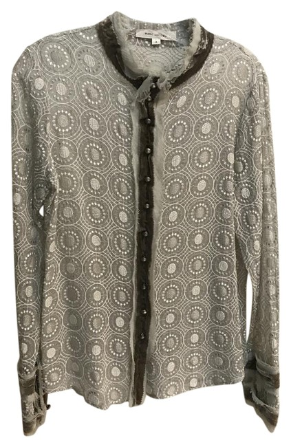 Preload https://img-static.tradesy.com/item/20561399/marc-jacobs-metallic-silver-blouse-button-down-top-size-4-s-0-1-650-650.jpg