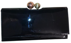 225066d90b85ed Ted Baker Ted Baker Verree Crystal Bobble Patent Leather Flap Wallet
