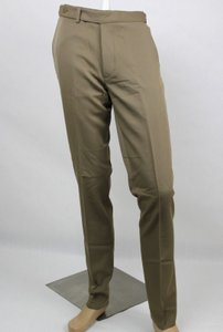 Bottega Veneta Light Brown Men's Wool Dress Pants It 48/Us 32 325166 2713 Groomsman Gift