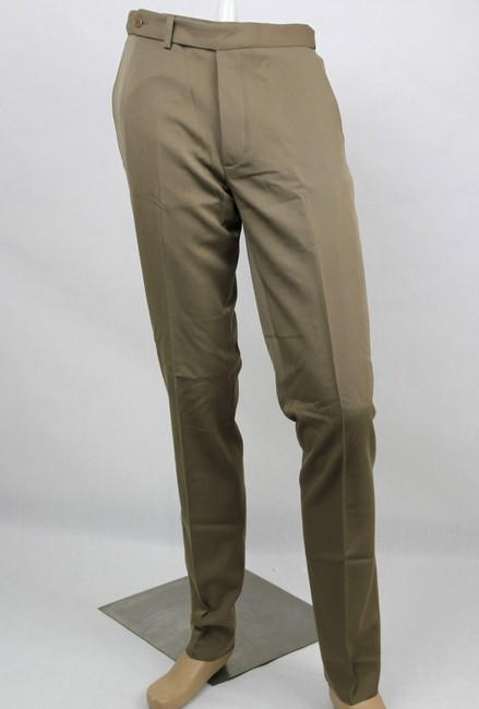 Item - Light Brown Men's Wool Dress Pants It 48/Us 32 325166 2713 Groomsman Gift