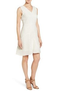 Elie Tahari short dress Off White on Tradesy