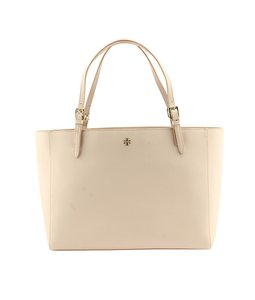Tory Burch Leather Tote in Pink