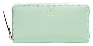 Kate Spade Mikas Pond Lacey Wallet Mint Mojito Color