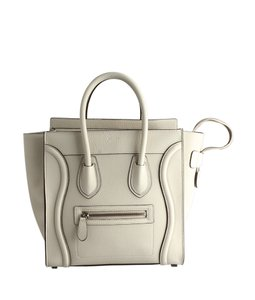 Céline 110790 Micro Tote in Tan