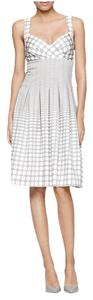 Calvin Klein short dress Blue, White Polka Dot Crisscross Strap on Tradesy