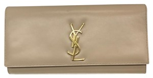 Saint Laurent Nude Clutch
