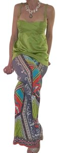 Other Leg Casual Small Wide Leg Pants bright colored print