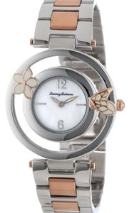 Tommy Bahama Tommy Bahama floral butterfly two tone watch