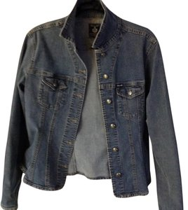 Façonnable faded denim Womens Jean Jacket