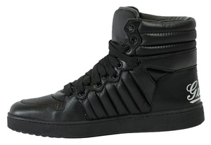 Gucci Sneaker High Top 322762 Black Athletic