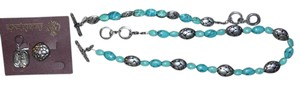 Premier Designs Premier Designs DURANGO retired jewelry set Concord turquoise antiqued