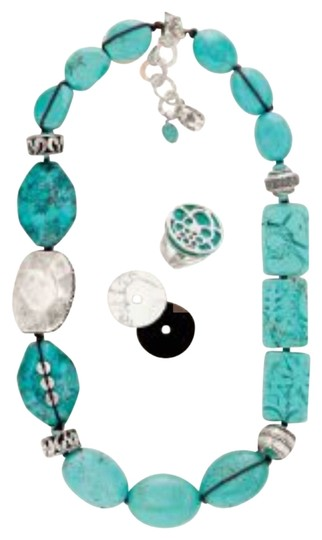 Silpada Sterling Silver And Turquoise Necklace