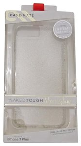 Case-Mate Case-Mate Naked Champagne Sheer Glam Case Dual Layer Cover 7 Plus