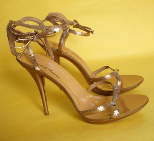 Michael Antonio High Heel Open Toe pink Sandals