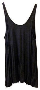 Urban Outfitters short dress Black Short Cotton Scoop on Tradesy