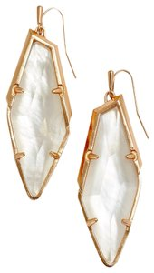 Kendra Scott New Bexley Asymetrical Drop Earrings, Ivory Mother of Pearl 4217713878