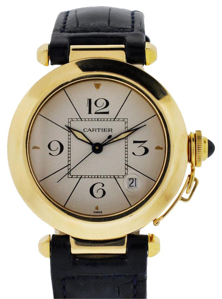 936c3d1942388 18k Yellow Gold Pasha Watch