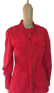 St. John Venetian Red Jacket