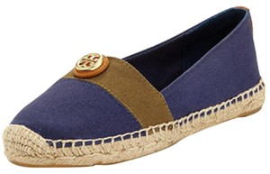 Tory Burch Olive Navy Flats