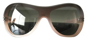 Chanel Pink and Brown Gradient Sunglasses