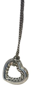 David Yurman cable heart necklace