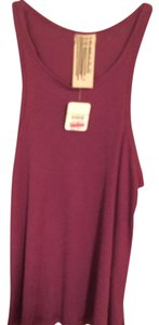 Free People Chillin Comfy Top Magenta