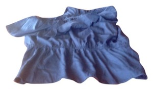 Banana Republic One Ruffles In The Waist . Like New.. Top Navy Blue