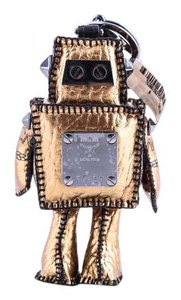 MCM * MCM Leather Robot Bag Charm
