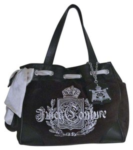 Juicy Couture Tote in Black Large Daydreamer