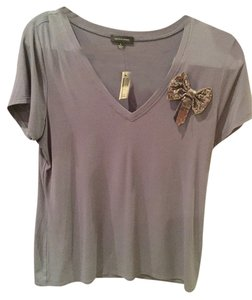Saks Fifth Avenue T Shirt Grey