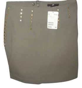 H&M Mini Skirt Olive