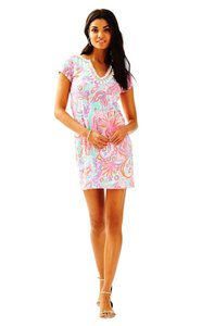 Lilly Pulitzer short dress Pink Pout Too Much Bubbly on Tradesy