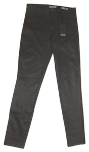 Vizcaino Coated Skinny Style Wh167 Color Skinny Jeans-Coated