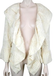 Chanel Camellia Silk Cream Ivory IVORY CREAM Jacket