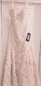 Martina Liana Fit-and-flare Designer Martina Liana 674# Brand New Never Out Of Box Wedding Dress