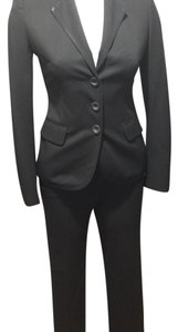 Salvatore Ferragamo uniform black blazer pants suit