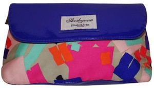 Shoshanna Exclusive Geniune Bright Bold Floral Multi-Colored Clutch