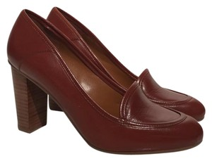 Nine West burnt brown/red Pumps