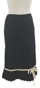 Barneys Co-Op Skirt black, cream
