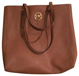 Michael Kors Cognac Travel Bag