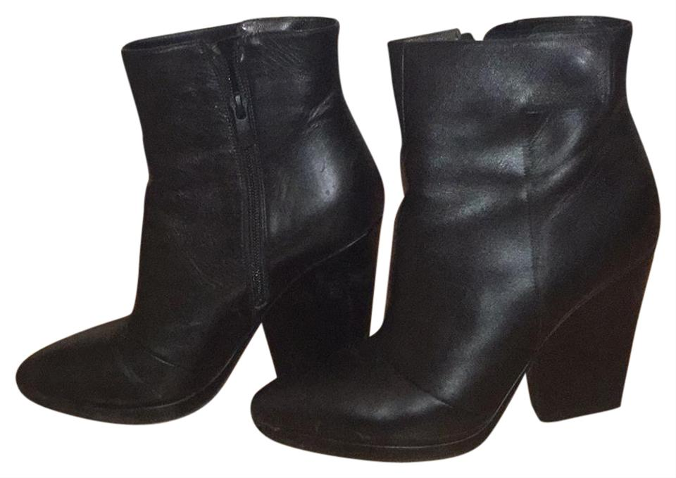 lady Luisa Vince Black Luisa lady Leather Boots/Booties to buy 080dd6