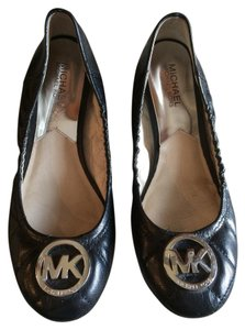 MICHAEL Michael Kors Quilted Leather Ballet Black Flats