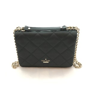 Kate Spade Quilted Gold Hardware Leather Cross Body Bag