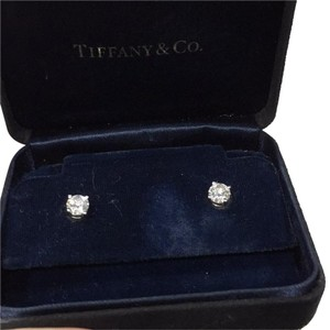 Tiffany & Co. round stud earrings